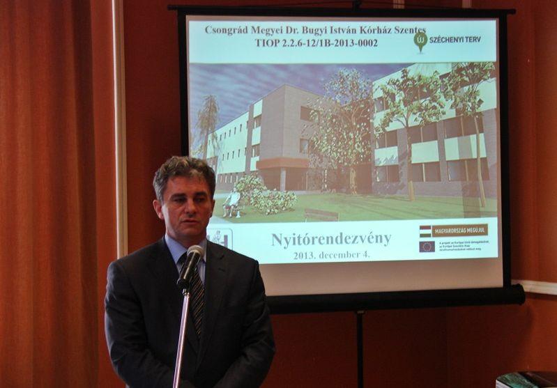 Dr. Meszaros Janos a GYEMSZI Del-alfoldi teruleti igazgatosag
